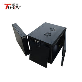 China 600 X 600mm Wall Mount Server Rack 19 Inch 9U Loading 800 Kg With Two Ventilation Holes supplier