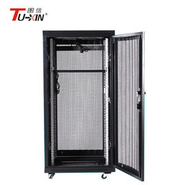China Compatible 600 X 600mm Network Rack Cabinet , Dustproof Small Computer Rack Cabinet supplier