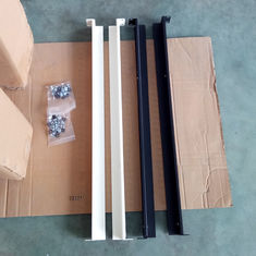 China 19 Inch 1u 1000mm Depth Rack Mount Accessories Flexible Length CE / ROSH supplier
