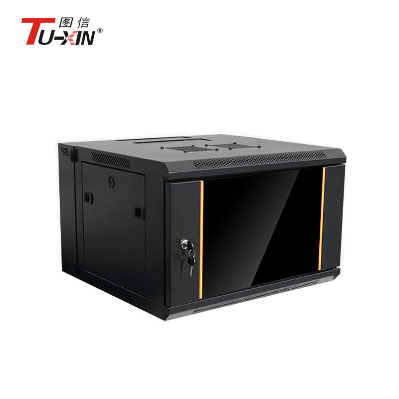 Ip20 Protection Wall Mount Rack Enclosure Cabinet 4u