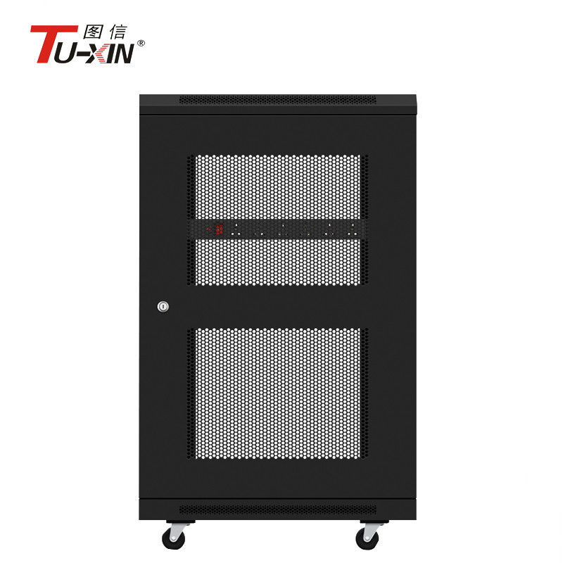 40U Mobile Server Rack 40 X 40mm Powder Coating Surface Finish Stunning Powder Coating Racks Suppliers