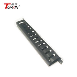 Universal 19 Inch Rack Accessories 1U & 12 Port Rack Mount Metal Network Cable Management
