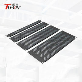 Cold Rolled Steel 19 Inch Rack Accessories 1U / 2U / 3U/ 4U Server Rack Blank Panel
