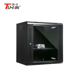 China 19 Inch 6u Wall Mount Network Cabinet Static Loading Capacity 60KG Powder Coating factory