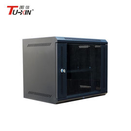 China Custom Small Network Cabinet , Communication Wall Mount Server Rack Cabinet factory
