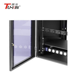 China Wall Mount Network Rack Enclosure , Dustproof 6u Computer Server Cabinet factory