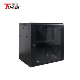 Cold Rolled Steel Wall Mount Network Cabinet 6u Switch Rack Corrosion Resistance