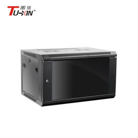 Commercial Wall Mount Network Cabinet Small Server Rack Stable Structure
