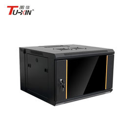 IP20 Protection  Wall Mount Rack Enclosure Cabinet , 4u Network Data Rack Cabinet