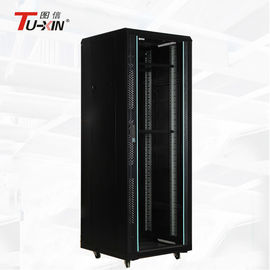 Universal 19 Inch 32U Standing Network Cabinet Fireproof Self Temperature Regulated