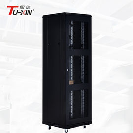 China Commercial Floor Standing Rack Cabinet , 37U Equipment Standing Server Rack factory