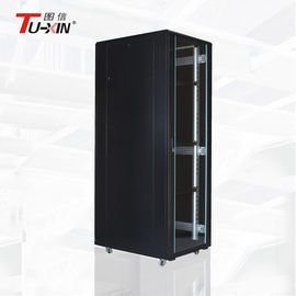 China Data Center 42u Standing Network Cabinet 19 Inch Rolling Server Rack Dustproof factory
