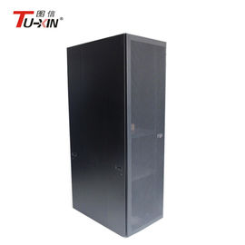China Waterproof 19 Inch Computer Server Rack Network Cabinet With Mesh Door And Fans factory