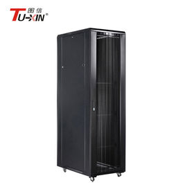 China Floor Standing 42u Server Rack , 19 Inch Locking Server Cabinet IP20 Protection factory