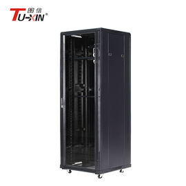 Data Center 19 Inch Server Rack IP20 Protection With Cooling Fans Fireproof
