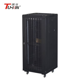 China High Standard Server Cabinet 800mm , Universal Mobile Server Rack Loading 500 Kg factory
