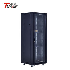 Full Height Computer Racks And Cabinets , High Capacity Rack Enclosure Server Cabinet