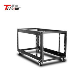 China 9U 19 Inch 900mm Open Frame Server Rack High Loading Capacity 800KG Stable Structure factory