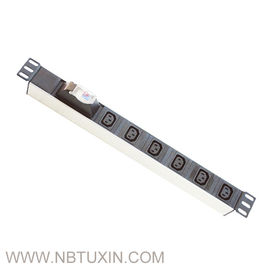 China 1.5u Industrial C19 Pdu Sockets Usa Type 19 Inch Aluminum Alloy Material factory